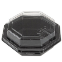 Reynolds 12096 Plastic Hinged Lid Carryout Containers