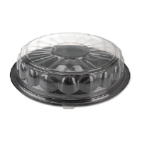 Reynolds 13614 Cater-Time® Clear Plastic Dome Lids, 16""