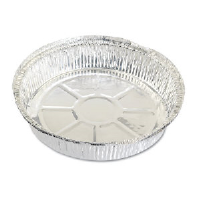 Reynolds RC477 Round Aluminum Take Out Containers, 9""