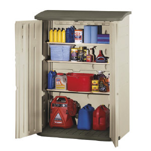 Beau Rubbermaid 3746 Large Vertical Storage Shed