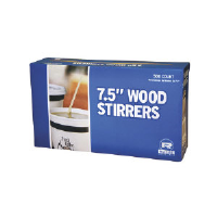 Royal Paper Products R825 Large Wood Coffee Stirrers