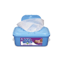 Royal Paper Products RPBWU-80 Unscented Baby Wipes, 12/80