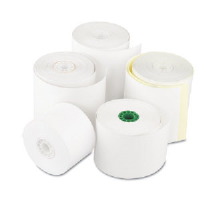 "Royal Paper Products RR2300 2 Ply Non Carbon Register Rolls, 3"" x 90"