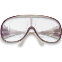 MCR Safety RX110 RX1000 Safety Goggles,Clear