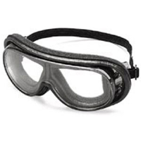 MCR Safety RX110FS RX 1000 Goggles w/Clear Anti-Fog Lens,Rubber Strap