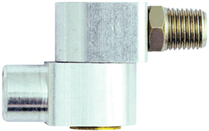 "Milton S-657 1/4"" NPT Swivel Connector"