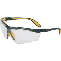 Sperian S3500 Uvex® Genesis X2 Safety Glasses,Sil/Navy, Clear