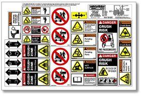 Flss Equipment Safety Decals Forklift Safety Sheet