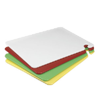 San Jamar CB152012YL CUT-N-CARRY® Cutting Boards, Yellow