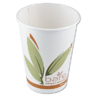 Solo Cup 370RC Bare™  10% PCF Paper Hot Cups, 10 Ounce