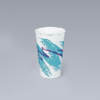 Solo Cup 378HJZJ 8 Ounce Jazz® Paper Hot Cups with Handles