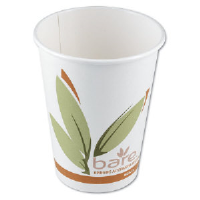 Solo Cup 412RCN Bare™ PCF Paper Hot Cups, 12 Ounce