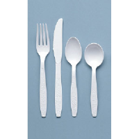 Solo Cup GBX6KW Guildware® Heavyweight Plastic Knife, 10/100
