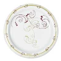 Solo Cup MP9SYM Symphony™ Design Paper Plates, 8.5 Inch