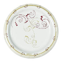 Solo Cup MWP9SYM Symphony™ Design Paper Plate, 9 Inch