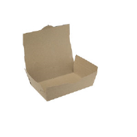 Southern Champion 0734 ChampPak™ Carryout Boxes, #4, Kraft