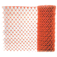 MCR Safety SF051D Safety Fencing, Orange, Diamond Openings, 4' x 50'
