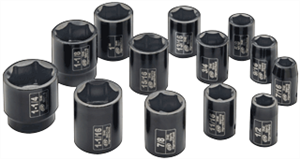 "Ingersoll Rand SK4H13 13 Pc. 1/2"" Drive SAE Impact Socket Set"