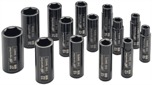 "Ingersoll Rand SK4M14L 14 Pc. 1/2"" Deep Metric Impact Socket Set"