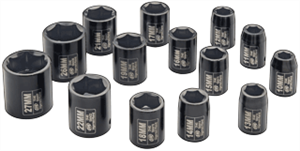 "Ingersoll Rand SK4M14 14 Pc. 1/2"" Metric Impact Socket Set"
