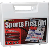 First Aid Only SM-134 71-Piece Sports First Aid Kit, Plastic Case