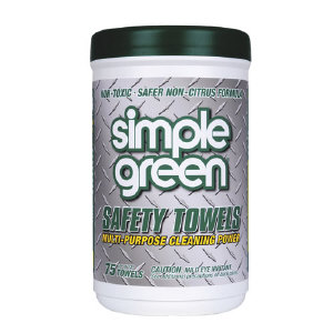 Simple Green 13351 Safety Towels