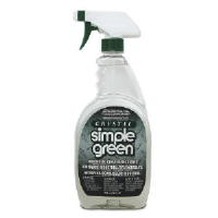 Simple Green 19128 Crystal® Industrial Strength Cleaner/Degreaser, 6/1 Gal