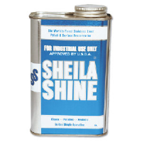 Sheila Shine 2 Stainless Steel Cleaner and Polish, Quart, 12/1 Quart