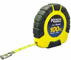 Keson ST181003X Steel Tape 3x1 Rewind, 100 Ft.