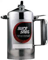Sure Shot 2000 Chrome Plated Sprayer, Rechargeable, 32 Oz.