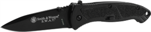 "Smith & Wesson SWATLB 4.8"" MAGIC Assist Knife, Black"