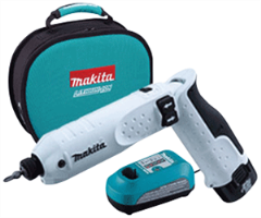 Makita TD020DSEW 7.2V Lithium-Ion Cordless Impact Screw Driver Kit