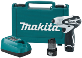 Makita TD090DW 10.8V Compact Lithium-Ion Cordless Impact Driver Kit