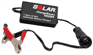 Solar TD1000 1 Amp Automatic 12 Volt Battery Charger