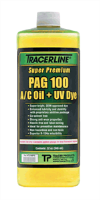 Tracer Products TD100PQ PAG 100 A/C Oil with UV Dye, 32 Oz.
