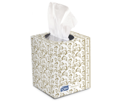 SCA TF6910 Tork Premium Facial Tissue Cube Box, 36/Cs.