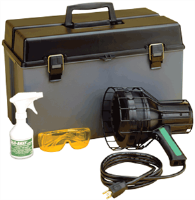 Tracer Products TP-1620 150W Leak Detection Lamp Kit w/ Case