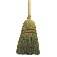 Unisan 920Y Mixed Fiber Light Duty Maid Broom, 42 Inch