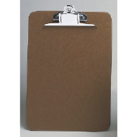 Universal Office Products 40304 Letter Size Brown Clipboard