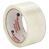 Universal Office Products 63000 Box Sealing Tape, 1.85 Mil, Clear