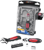 Performance Tool W39000 45 Pc. Stubby Set
