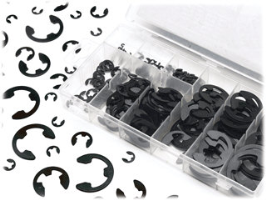 Performance Tool W5208 300 Pc. E-Clip Assortment