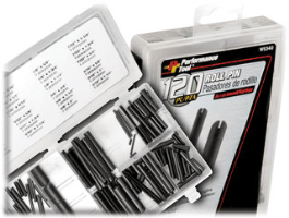 Performance Tool W5340 120 Pc. Roll Pin Assortment