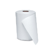 Windsoft 109 Nonperforated Hardwound Roll Towels, White, 12/350