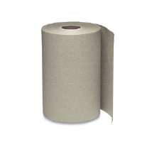 Windsoft 1180 Nonperforated Hardwound Roll Towels, Brown, 12/600