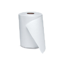 Windsoft 1190 Nonperforated Hardwound Roll Towels, White, 12/600