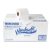 Windsoft 2400 Recycled Two-Ply Toilet Tissue