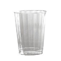 WNA Inc. CC10240 Classic Crystal™ Fluted Tumblers, Tall, 10 Ounce