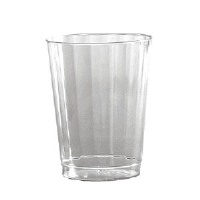 WNA Inc. CC9240 Classic Crystal™ Fluted Tumblers, Squat, 9 Ounce