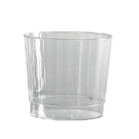 WNA Inc. CCR9240 Classic Crystal™ Fluted Rock Tumblers, Squat, 9.5 Ounce